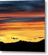 Colorado Sunrise Metal Print by Bronze Riser