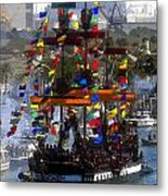 Colors Of Gasparilla Metal Print by David Lee Thompson