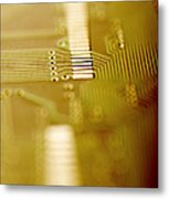 Computer Circuit Board Metal Print by Tim Vernonlth Nhs Trust