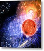 Cosmic Evolution Metal Print by Don Dixon