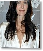 Courteney Cox Arquette At Arrivals Metal Print by Everett
