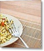 Cous Cous Salad Metal Print by Tom Gowanlock