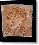 Divine Shepherd Metal Print by Gloria Ssali