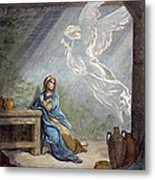 DorÉ: The Annunciation Metal Print by Granger