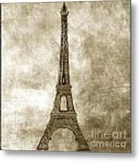 Eiffel Tower. Paris Metal Print by Bernard Jaubert