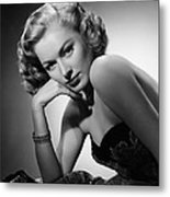 Eleanor Parker, Ca. 1940s Metal Print by Everett