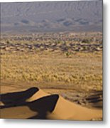Erg Chigaga, Sahara Desert, Morocco, Africa Metal Print by Ben Pipe Photography