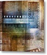 Film Negatives Metal Print by Les Cunliffe