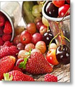 Fruits And Berries Metal Print by Elena Elisseeva