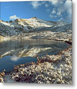 Geissler Mountain And Linkins Lake Metal Print by Tim Fitzharris