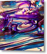 Glass Macro II Metal Print by David Patterson