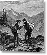 Gold Prospectors, 1876 Metal Print by Granger