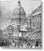 Grants Inauguration, 1873 Metal Print by Granger