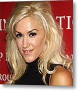 Gwen Stefani At Arrivals For Fashion Metal Print by Everett