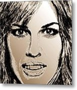 Hilary Swank In 2007 Metal Print by J McCombie
