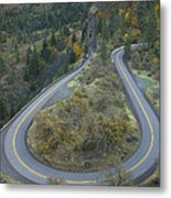 Historic Columbia River Highway Metal Print by Alan Majchrowicz