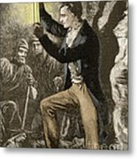 Humphry Davy, English Chemist Metal Print by Science Source
