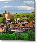 Hunawihr Alsace Metal Print by Brian Jannsen