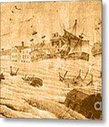 Hurricane, 1815 Metal Print by Science Source