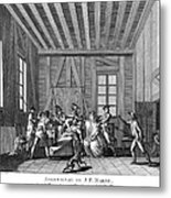 Jean-paul Marat (1743-1793) Metal Print by Granger