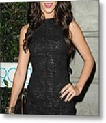 Jessica Lowndes At Arrivals For 90210 Metal Print by Everett