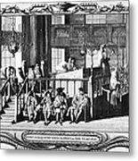 Jewish Life, 18th Century Metal Print by Granger
