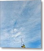Kite Board Metal Print by Elijah Weber