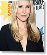 Kristen Bell At Arrivals For Cosmos Metal Print by Everett