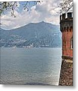 Lago Di Como Metal Print by Joana Kruse