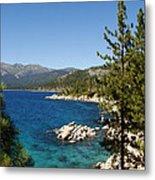 Lake Tahoe Shoreline Metal Print by Scott McGuire
