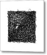 Line 6 Metal Print by Rozita Fogelman