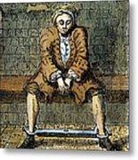 London: Debtors Prison Metal Print by Granger