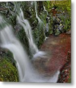 Lower Buttermilk Falls Metal Print by Stephen  Vecchiotti