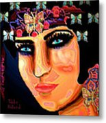 Madame Butterfly Metal Print by Natalie Holland