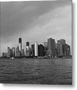 Manhattan Metal Print by Nina Mirhabibi