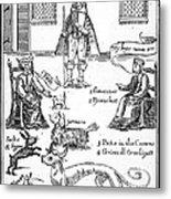 Matthew Hopkins (d. 1647) Metal Print by Granger