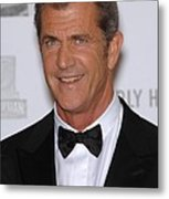 Mel Gibson In Attendance For 25th Metal Print by Everett