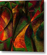 Merging Metal Print by Amanda Moore