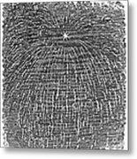 Meteor Shower, 1833 Metal Print by Granger