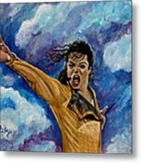 Michael Jackson Metal Print by Paintings by Gretzky