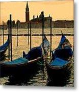 Morning In Venice Metal Print by Barbara Walsh