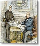 Nast: Civil Service Reform Metal Print by Granger