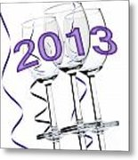 New Year 2013 Metal Print by Blink Images