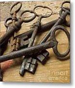 Old Keys Metal Print by Bernard Jaubert