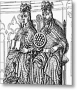 Otto I (912-973) Metal Print by Granger