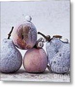 Pears And Apples Metal Print by Bernard Jaubert