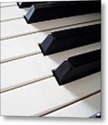 Piano Keys Metal Print by Carlos Caetano