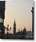 Piazetta. Venice Metal Print by Bernard Jaubert