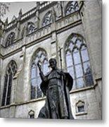 Pope John Paul I I Metal Print by David Bearden