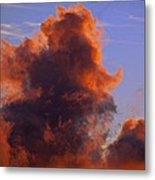 Red Clouds Metal Print by Garry Gay